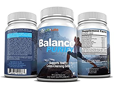 Colon Cleanse - Doctor Recommended Complete 15-Day Colon/Body Cleanse & Detox. Accelerate Healthy Weight Loss And Prime Your Body For Optimal Nutrient Absorption - Balance Purify Six+ Month Supply
