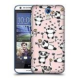 Head Case Designs Panda Cutesy Doodles Hard Back Case for HTC Desire 816