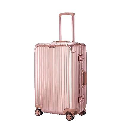 2e413bd4e6e6 Amazon.com: Luggage PC High-Grade Curved Aluminum Frame Trolley Case ...