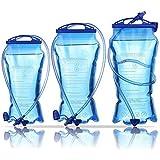 MATT SAGA Water Bladder Hydration Pack Bladder, 3 Litter 2 Liter 1.5 Liter Insulated Reservoirs BPA Free Bladder Replacement Backpack Outdoor Running Cycling Hiking Climbing
