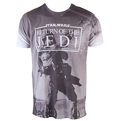 Herren T-Shirt Star Wars - Return Of The Jedi (Dey Sub) - PLASTIC HEAD - PH8986 M
