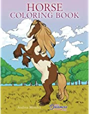 Horse Coloring Book: For Kids Ages 9-12