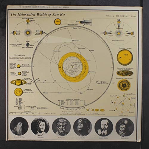 the heliocentric worlds, vol. 2 LP