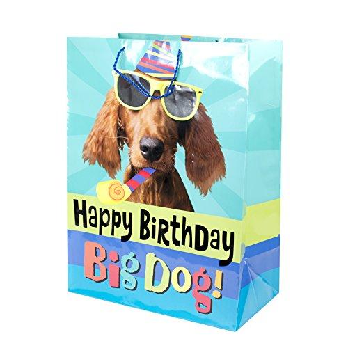 Hallmark Oversized Birthday Gift Bag (Party Dog) ()