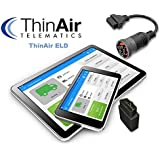 ThinAir ELD - Electronic Logging Device (With No Cable)