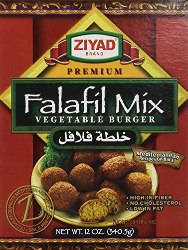 (Ziyad Premium Falafel Dry Mix, 12 Ounce, 340.5 grams (Pack - 2))