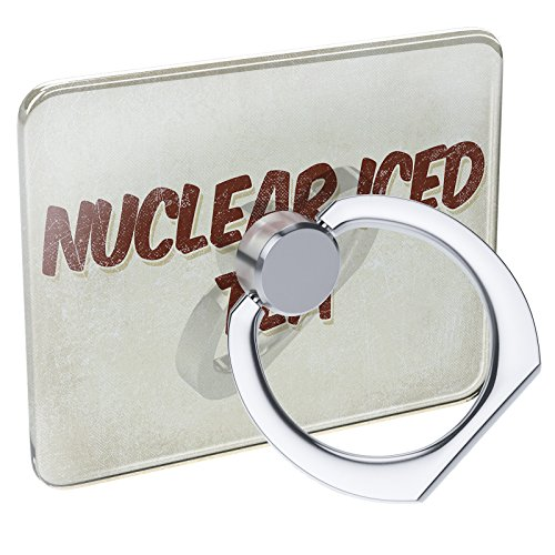 Cell Phone Ring Holder Nuclear Iced Tea Cocktail, Vintage style Collapsible Grip & Stand Neonblond (Nuclear Ice)