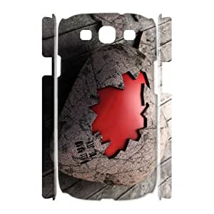 QSWHXN Love Pink Customized Hard 3D Case For Samsung Galaxy S3 I9300