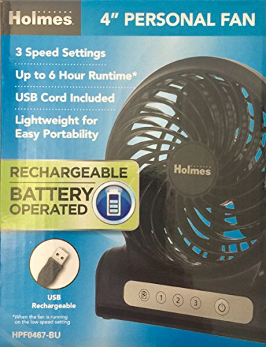 Holmes Personal Rechargeable Battery Operated