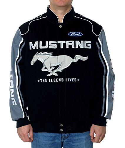 Ford Mustang Racing Jacket (XXXL) (Mustang Cotton Jacket Ford Racing)