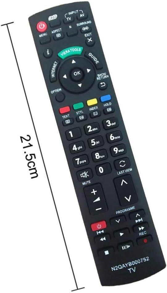 Reemplazo Mando para Panasonic TV N2QAYB000752 Universal Mando a Distancia: Amazon.es: Electrónica