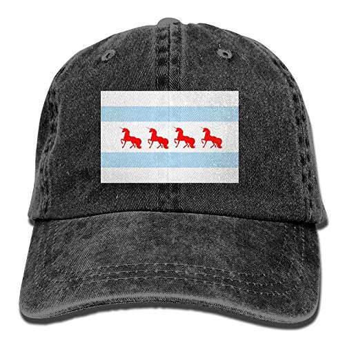 Hat Women's béisbol Gorras Walnut Hat Baseball Adjustable Unicorn Flag Chicago Funny Cake Denim w1qzq0Z