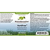 VertiFree Temporarily Relieves Dizziness and