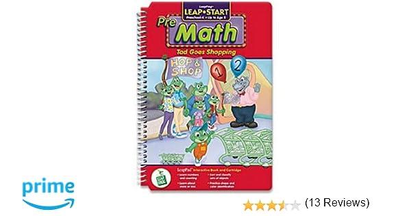 Amazon.com: Leapfrog Pre-K & Kindergarten LeapPad Book:Tad Goes ...