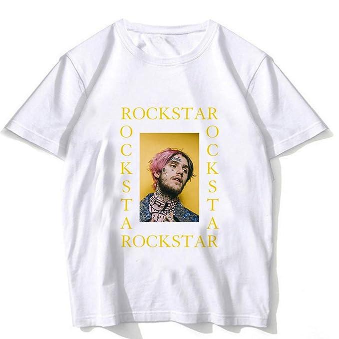 085c49f3c7d3 Rapper Lil Peep T Shirt Rap Hiphop LilPeep Men Camiseta con Estampado  Gráfico Camiseta Hip Hop Tops: Amazon.es: Ropa y accesorios