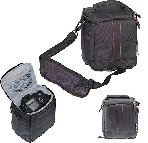 Navitech Black Digital Camera Carrying Case and Travel Bag Compatible with The Polaroid One Step 2