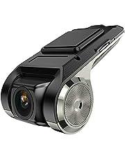 TOTMOX Dash Cam, 1080P Full HD Dashcam voor auto's, met Loop Recording, G-sensor, Bewegingsdetectie, Ondersteuning WiFi/GPS/ADAS Functie