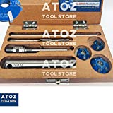 ATOZ.Toolstore 3X Briggs Stratton Valve Seat Cutters Set Carbide Tip Small Gasoline Engine HP Express Shipping