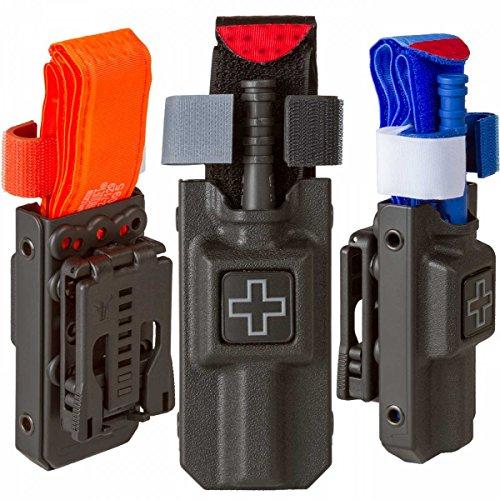 Tourniquet Case: C-A-T Rigid Softt Wide With Tek-Lok Belt Attachment (Black)