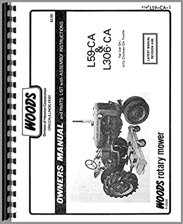 Woods L306 Mower Attachment Operators Manual