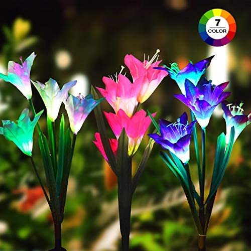 Flowers Multi Color Changing Landscape Lighting product image