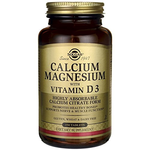 Solgar Calcium Magnesium with Vitamin D3 Tablets, 150 Count: Amazon.es: Salud y cuidado personal