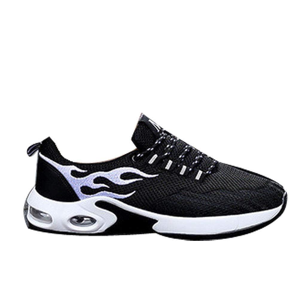 GoldGOD Sportschuhe Männer Fliegen Gewebte Lässige Schuhe Luftkissen Luftkissen Luftkissen Erhöht Damenschuhe Laufschuhe Atmungsaktive Paar Schuhe,schwarz,39UK 7c5b90