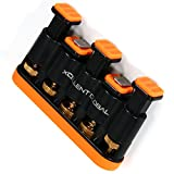 Xcellent Global Hand Finger Exerciser Finger Strengthener Trainer - Great Exercises For Hand, Finger & Wrist Strength Training Exercises For Guitar, Piano, Golf, Tennis & Physical Therapy M-SP025