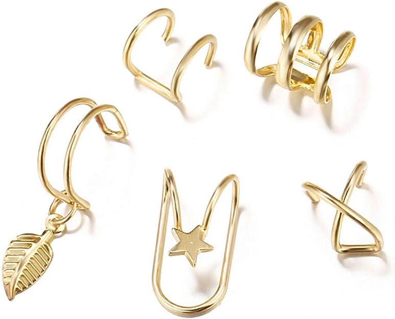 Amazon.com: Elephant Ear Cuffs, Antiqued Finish, Sterling