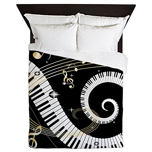 CafePress Musical Printed Comforter Bedding