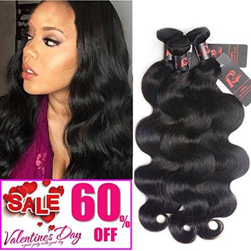 RESACA Peruvian Virgin Hair Body Wave 3 Bundles