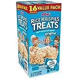 Kellogg's Rice Krispies Treats, Crispy Marshmallow Squares, Original, Value Pack, 0.78 oz Bars(16 Count)