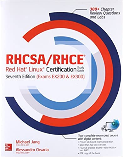 RHCSA/RHCE Red Hat Linux Certification Study Guide, Seventh Edition ...