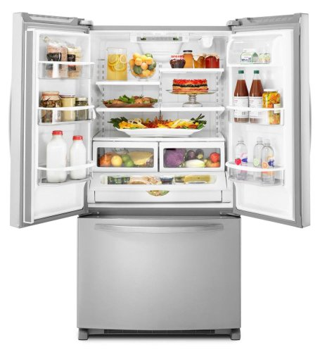 Amazon.com: KitchenAid KBFS25EWMS Architect Series II 24.8 Cu. Ft. French  Door Refrigerator   Stainless Steel: Appliances
