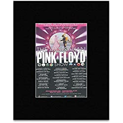 AUSTRALIAN PINK FLOYD SHOW - 2015 Tour Dates Mini Poster - 13.5x10cm