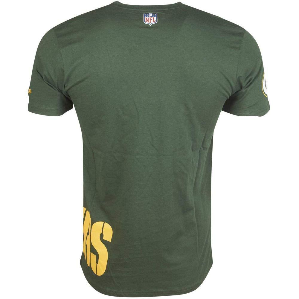 Hombre A NEW ERA NFL Wrap Around tee Grepac Camiseta Green Bay Packers