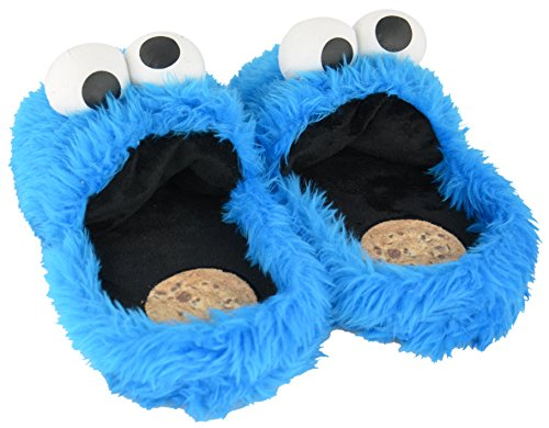 - Sesame street Cookie Monster Size XL 10,5-12 3D Slippers