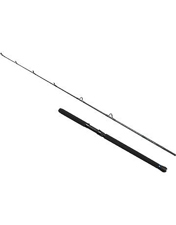VORCOOL Ca/ña de Pescar Tlesc/ópicas de Fibra de Vidrio Verde para Accesorio de Pesca de Mar Agua Dulce y Agua Salada del Aire Libre 2.4m
