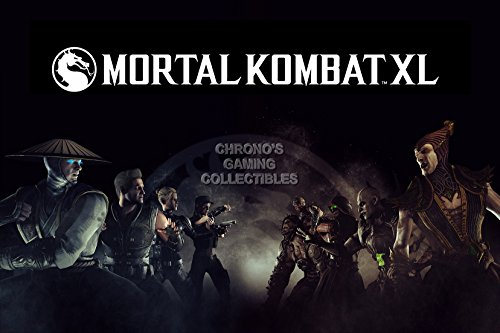 CGC Huge Poster - Mortal Kombat Xl Ps4 Xbox One X
