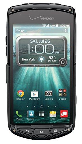 Kyocera Brigadier Black Verizon Wireless