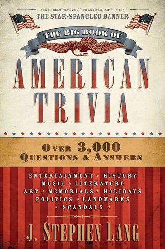 The Big Book of American - Game Sweets Trivia