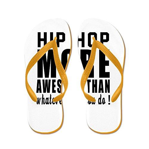 Design Hip Hop Più Cool - Infradito, Sandali Infradito Divertenti, Sandali Da Spiaggia Arancione