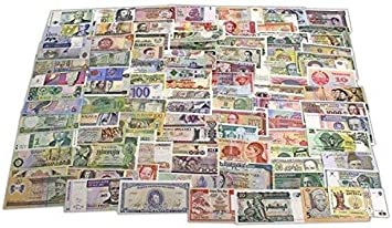 IMPACTO COLECCIONABLES Billetes del Mundo, 100 Billetes Diferentes de 100 Países Distintos: Amazon.es: Juguetes y juegos