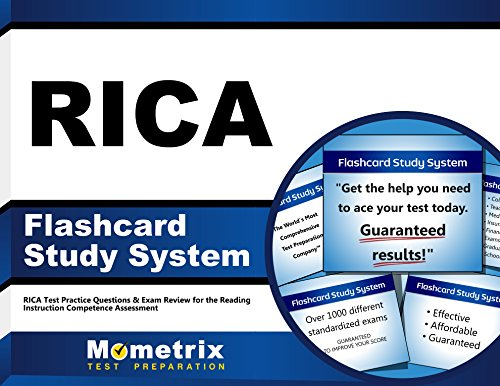 RICA Flashcard Study System: RICA Test Practice Questions & Exam Review for the Reading Instruction Competence Assessment (Cards)