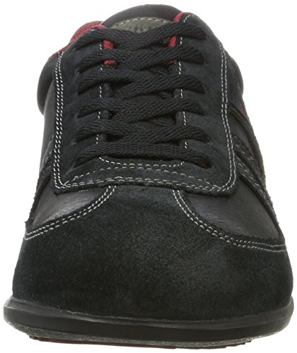 fashionable sale online Dockers by Gerli Men's Low-Top Trainers Black (Schwarz/Grau) shopping online cheap sale shop for ehivkjnmfj