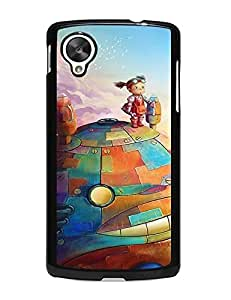 Caitlin J. Ritchie's Shop Artistic Totoro Pattern Uncommon Style LG Nexus 5 Solid Case Cover 7384792M752801478