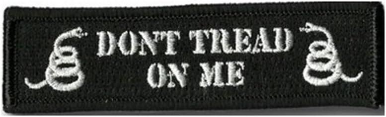 DONT TREAD NO ME Black DONT TREAD NO ME Black aquiver Multicam bordado parche t/áctico para Airsoft y Paintball hierro//para coser en insignia
