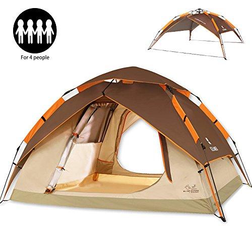 ZOMAKE Camping Kuppelzelte Wurfzelte Outdoor Pop up Wurfzelt 2-3 Personen