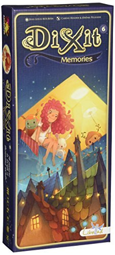 Asmodee Dixit: Memories Expansion (Best Dixit Expansion Pack)