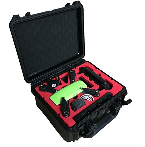 Professional Carrying Case for DJI Spark with space for many batteries and more accessories (Spark Compact)